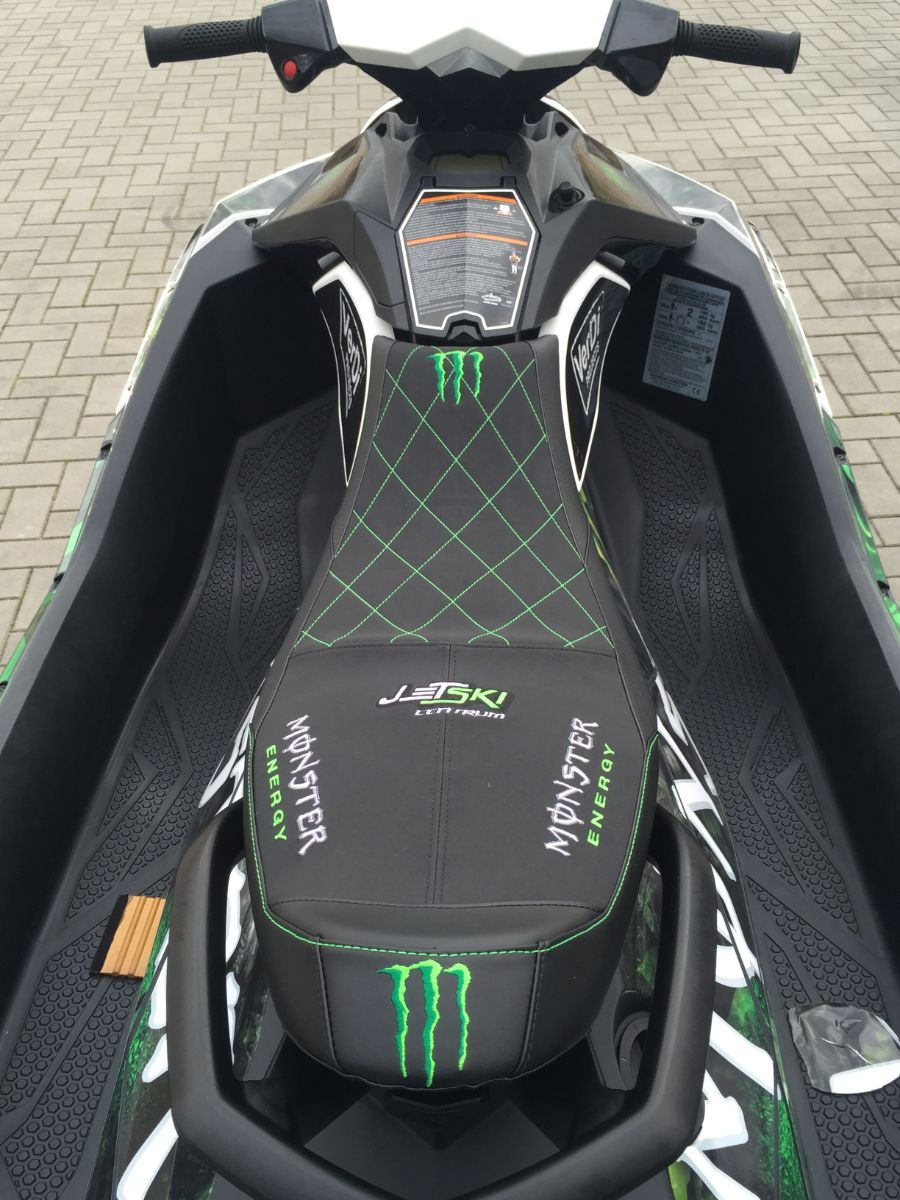 Sea doo spark monster energy seat cover Image