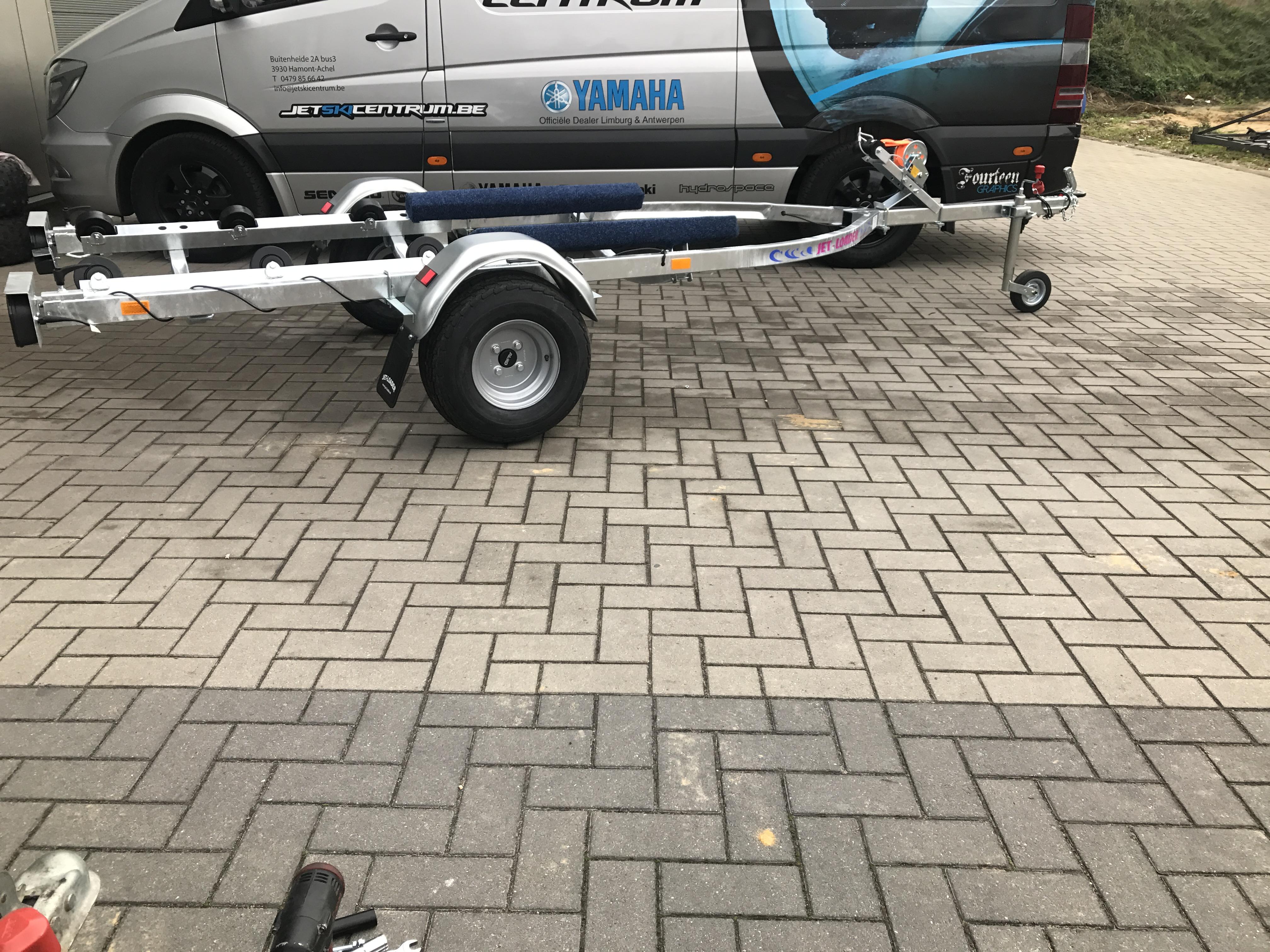 Jet-loader big galva met rollen Image