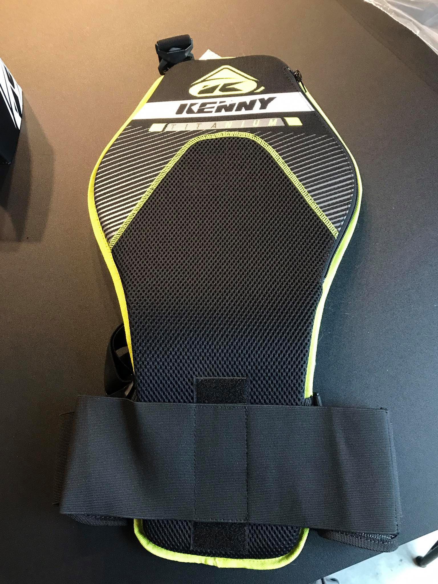 Kenny 2020 Titanium Back Bodyprotector Image