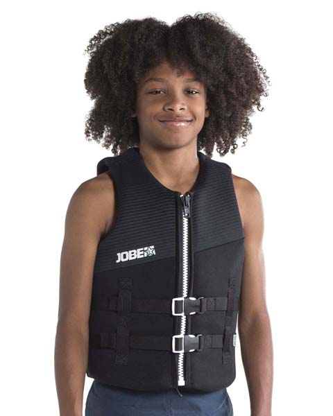 Jobe Neoprene Vest Youth Black Image