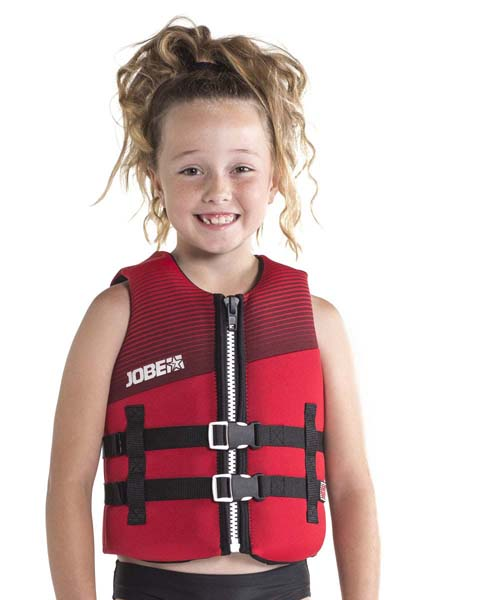 Jobe Neoprene Vest Youth Red Image