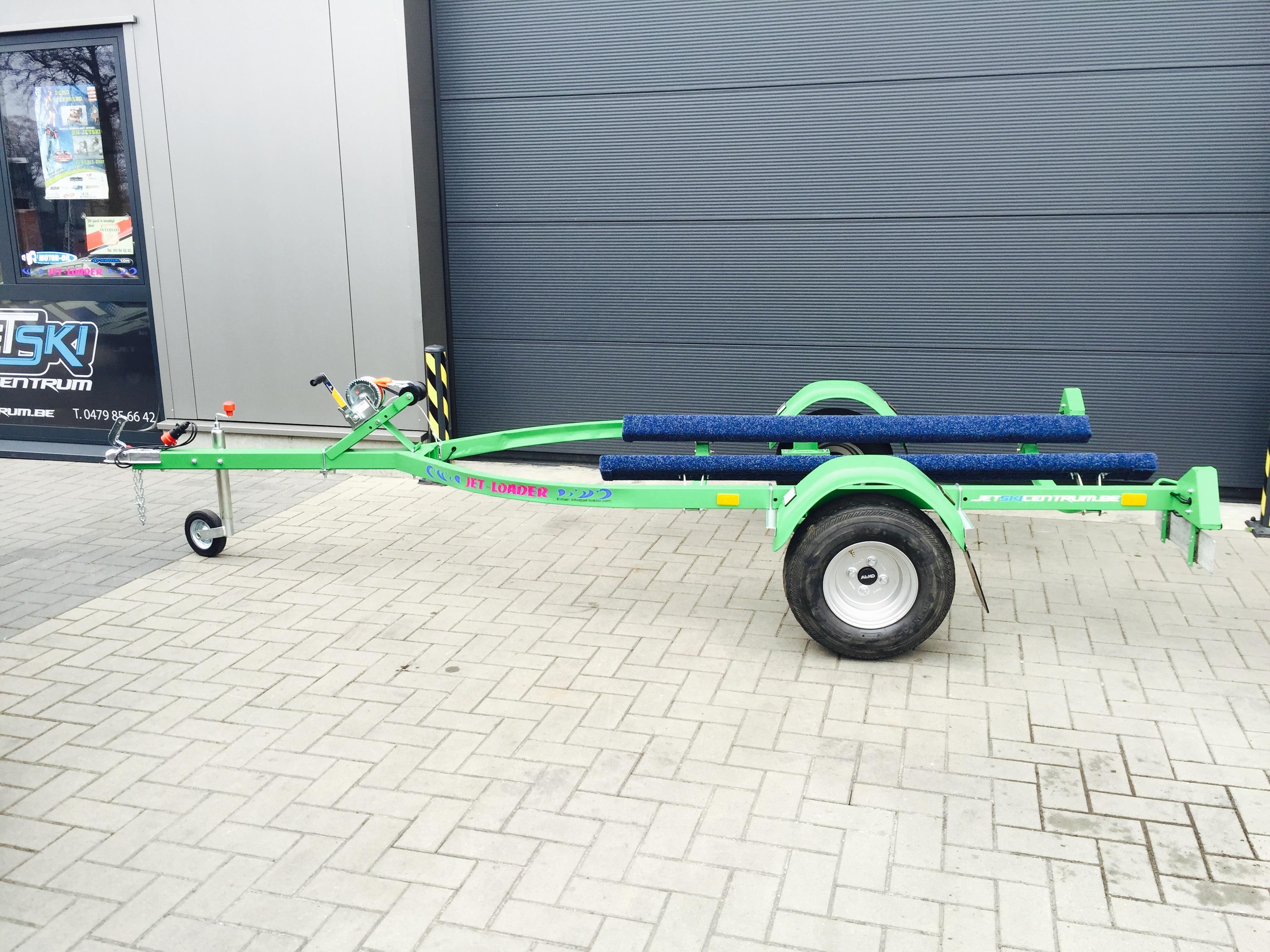 Jet-loader standaard kawasaki groen Image
