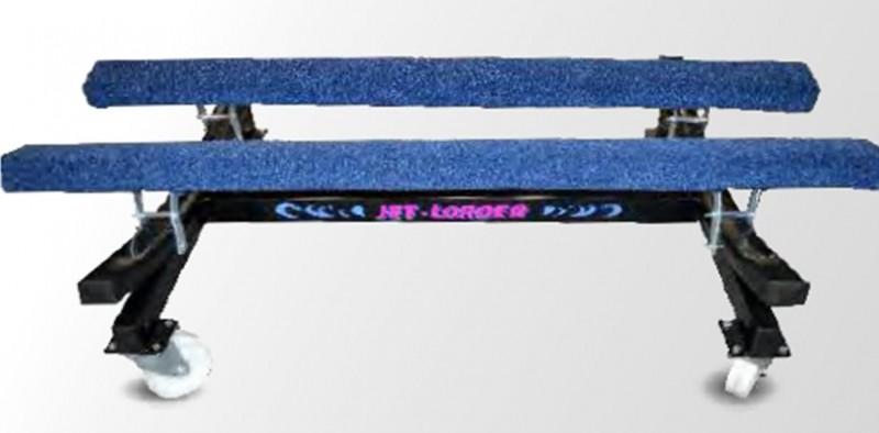 Jet-loader showroom wagen zwart (stallingsbok) Image