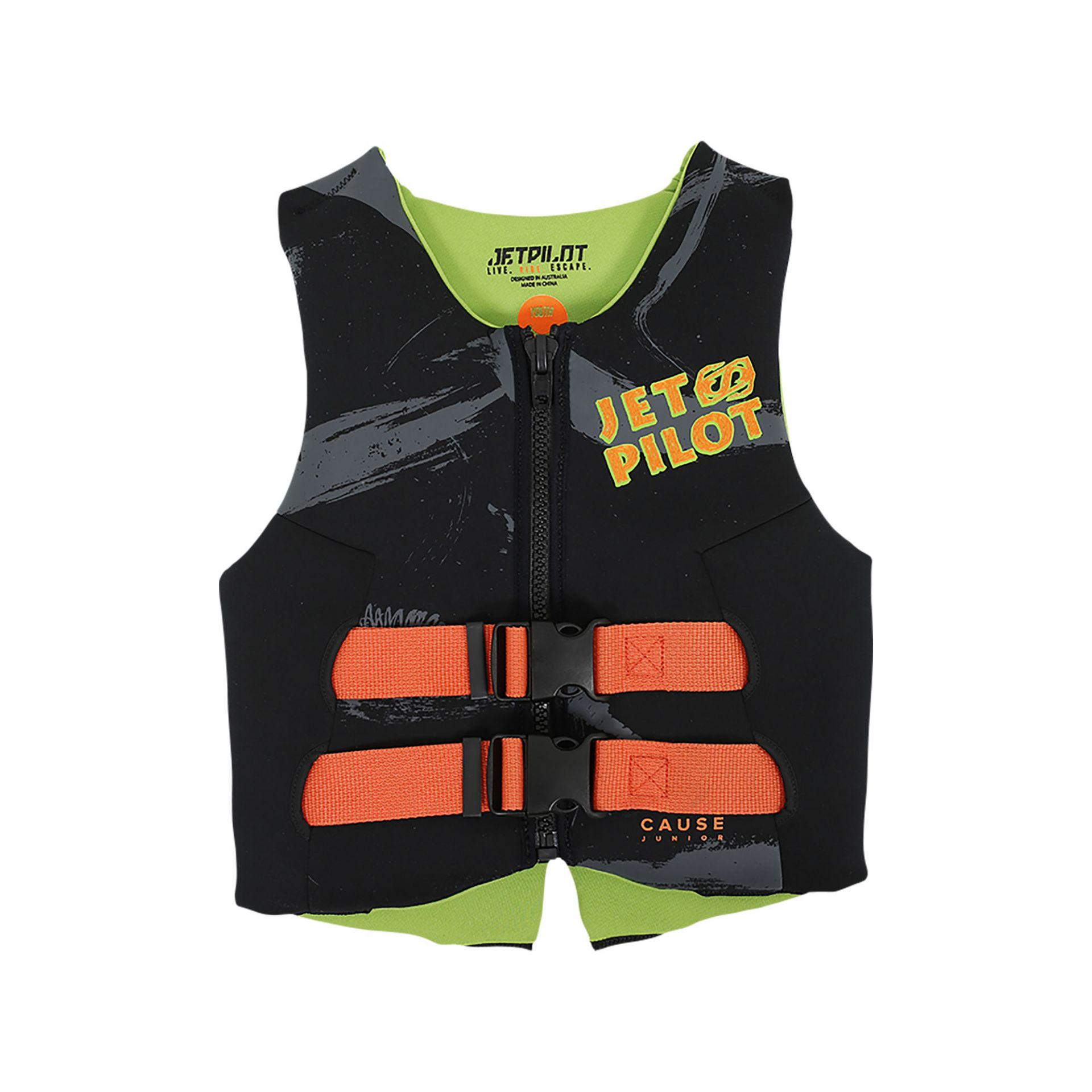 Jetpilot Cause Youth/Teen ISO 50N Neo Vest Image
