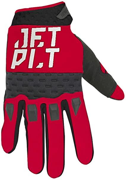 Jetpilot Matrix Race Glove Full Finger Red/Black Image