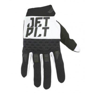Jetpilot Matrix Race Glove Full Finger White/Black Image