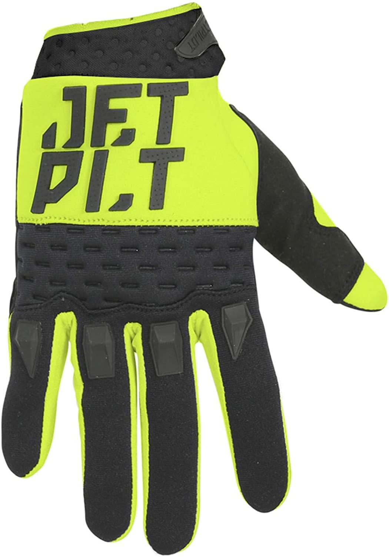 Jetpilot Matrix Race Glove Full Finger Yellow/Black Image